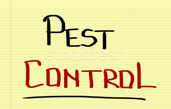 Pest Control Concept Stock photo © KrasimiraNevenova