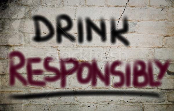 ドリンク 健康 にログイン 法 飲料 安全 ストックフォト © KrasimiraNevenova