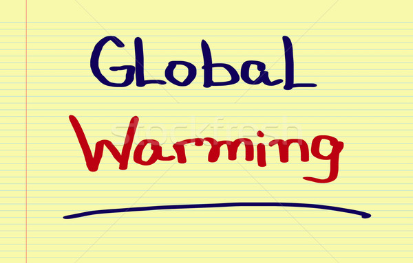 Global Warming Concept Stock photo © KrasimiraNevenova