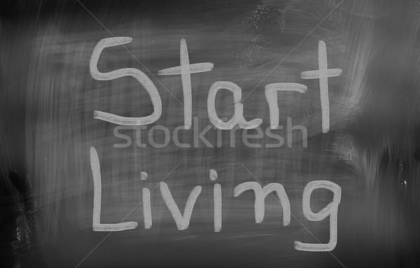 Sonho grande negócio financiar comunicação corporativo Foto stock © KrasimiraNevenova