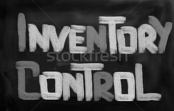 Inventory Control Concept Stock photo © KrasimiraNevenova