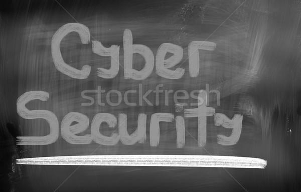 Cyber Security Concept Stock photo © KrasimiraNevenova