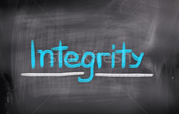 Integrity Concept Stock photo © KrasimiraNevenova