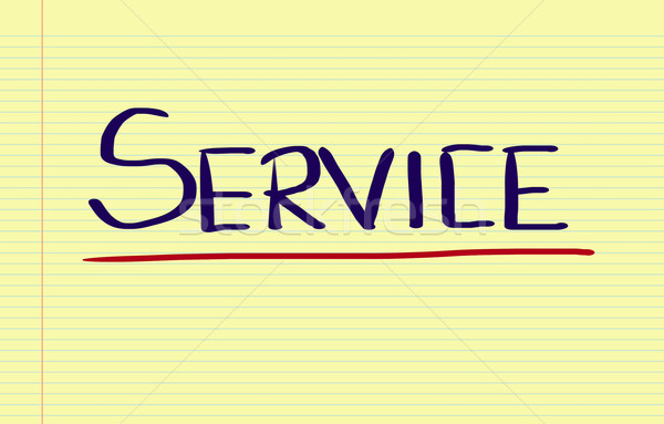 Service Concept Stock photo © KrasimiraNevenova