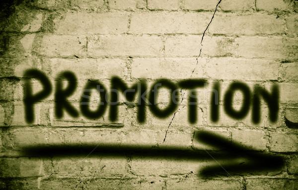 ストックフォト: プロモーション · 時間 · 情報 · 広告 · 販売 · 小売