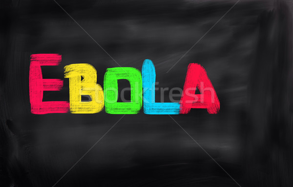 Ebola Concept Stock photo © KrasimiraNevenova