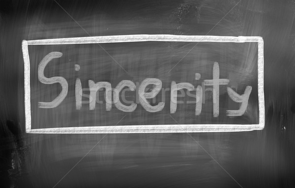 Sincerity Concept Stock photo © KrasimiraNevenova