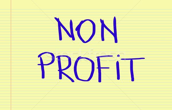 Non Profit Concept Stock photo © KrasimiraNevenova