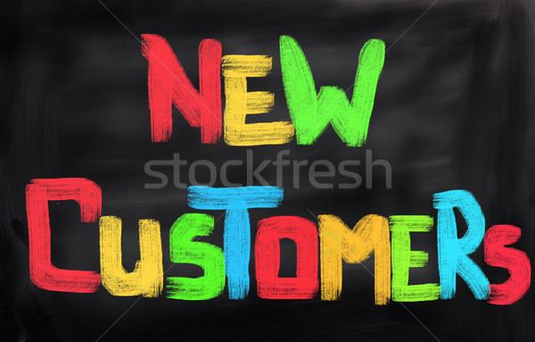 New Customers Concept Stock photo © KrasimiraNevenova