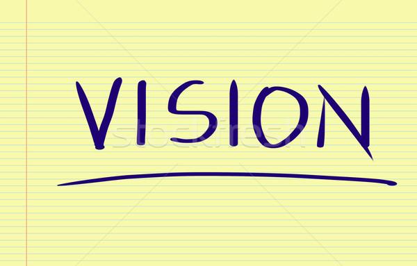 Vision Concept Stock photo © KrasimiraNevenova