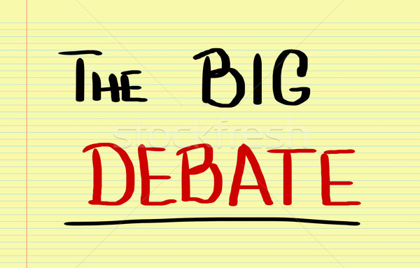 The Big Debate Concept Stock photo © KrasimiraNevenova
