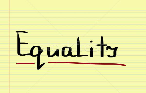равенство подготовки свободу гонка поддержки сообщество Сток-фото © KrasimiraNevenova