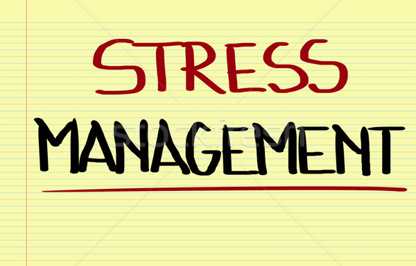 Stress Menagement Concept Stock photo © KrasimiraNevenova