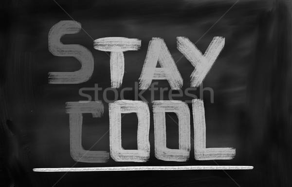 Stay Cool Concept Stock photo © KrasimiraNevenova