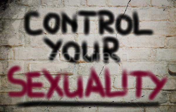 Control Your Sexuality Concept Stock photo © KrasimiraNevenova
