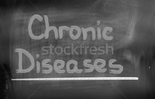Chronic Disease Concept Stock photo © KrasimiraNevenova