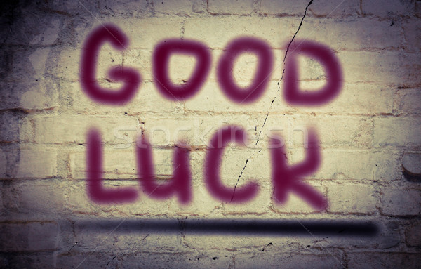 Stock photo: Good Luck Concept