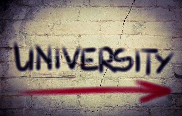 Stock photo: University Concept