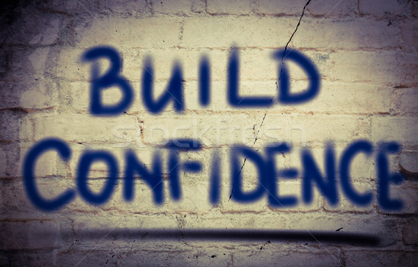 Build Confidence Concept Stock photo © KrasimiraNevenova