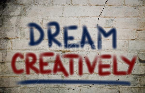 Sonho projeto educação sucesso nota meta Foto stock © KrasimiraNevenova