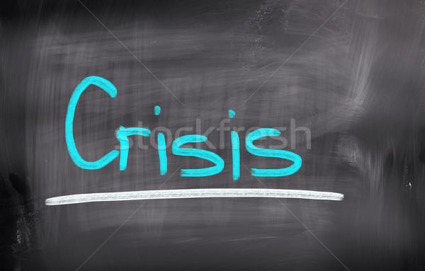 Crisis Concept Stock photo © KrasimiraNevenova