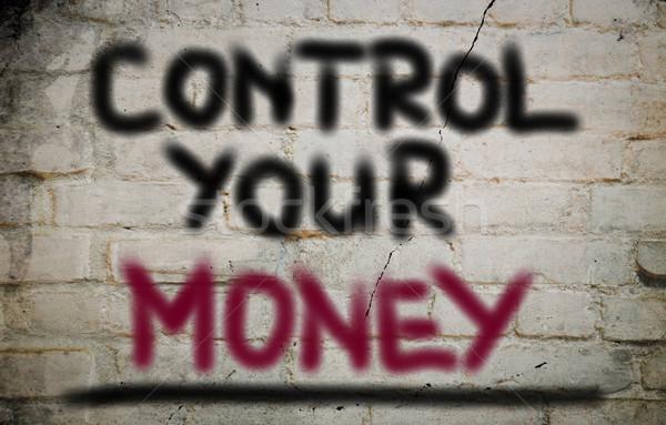 Control Your Money Concept Stock photo © KrasimiraNevenova