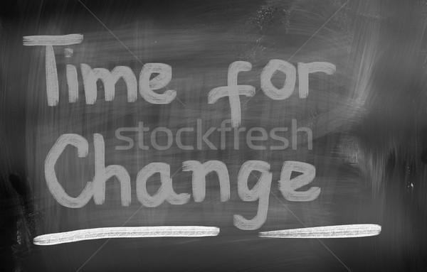 Time For Change Concept Stock photo © KrasimiraNevenova