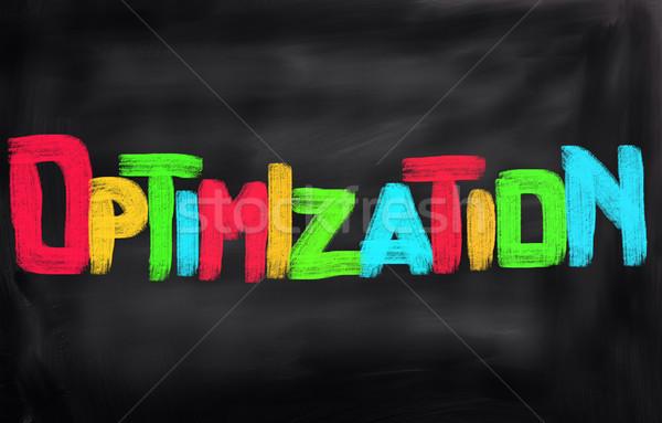 Optimization Concept Stock photo © KrasimiraNevenova