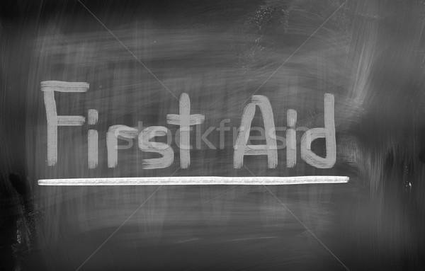 First Aid Concept Stock photo © KrasimiraNevenova