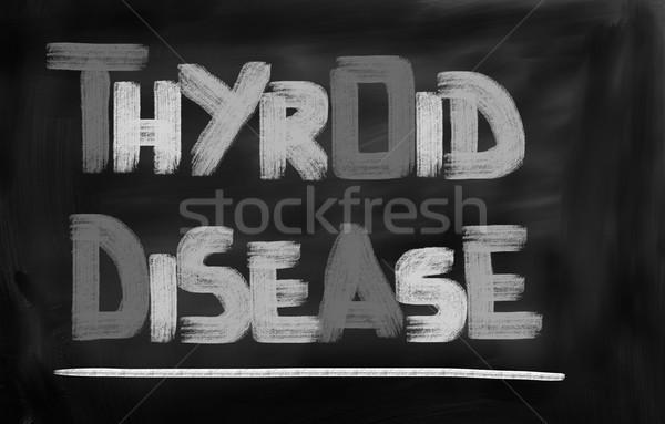 Hastalık hasta soğuk virüs sağlık yetişkin Stok fotoğraf © KrasimiraNevenova