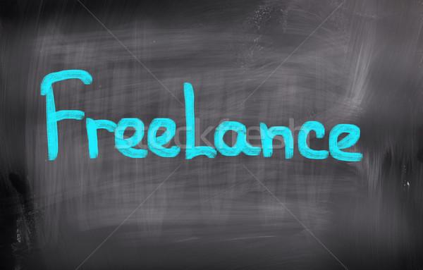 Freelance Concept Stock photo © KrasimiraNevenova