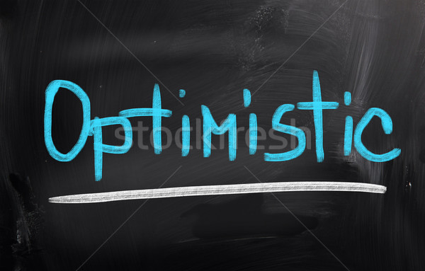 Optimistisch business team succes idee keuze Stockfoto © KrasimiraNevenova