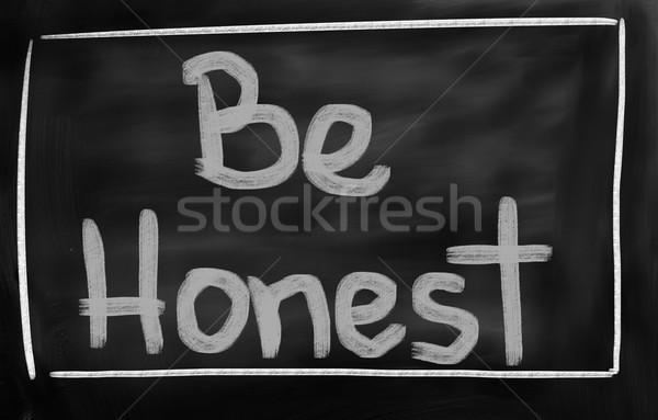 Tisztességes üzlet bizalom szöveg konceptuális választ Stock fotó © KrasimiraNevenova