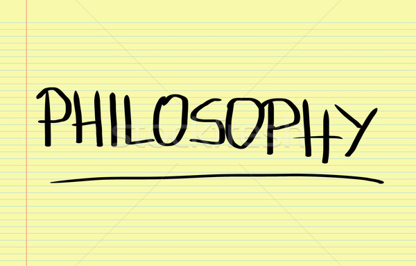 Philosophy Concept Stock photo © KrasimiraNevenova