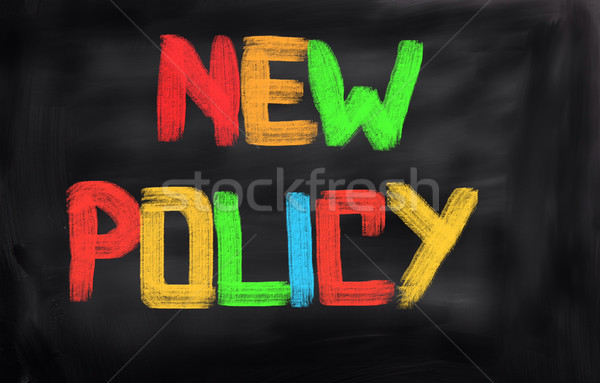 New Policy Concept Stock photo © KrasimiraNevenova
