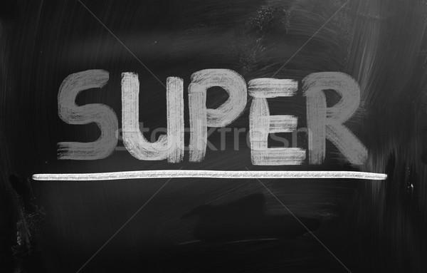 Süper güç fikir satış satın almak yeni Stok fotoğraf © KrasimiraNevenova