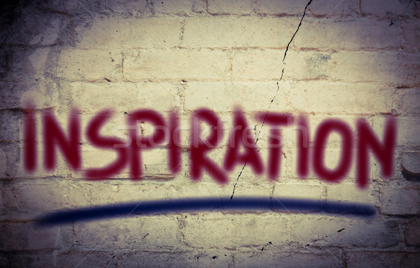 Inspiração conceito palavra desafiar motivação Foto stock © KrasimiraNevenova
