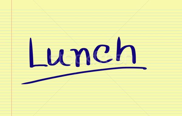 Lunch Concept Stock photo © KrasimiraNevenova