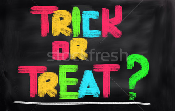 Trick Or Treat Concept Stock photo © KrasimiraNevenova