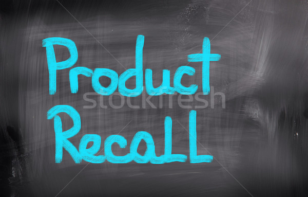 Product Recall Concept Stock photo © KrasimiraNevenova