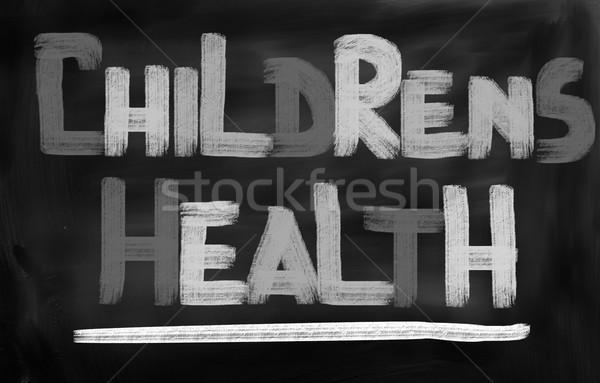 Childrens Health Concept Stock photo © KrasimiraNevenova