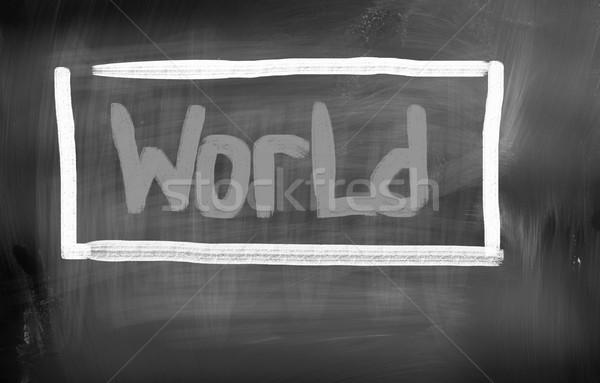 World Concept Stock photo © KrasimiraNevenova