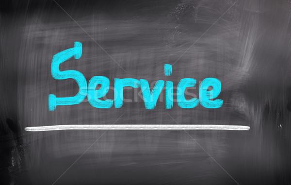 Dienst business industrie marketing target schrijven Stockfoto © KrasimiraNevenova