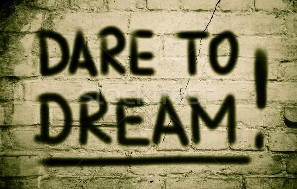 Dare To Dream Concept Stock photo © KrasimiraNevenova