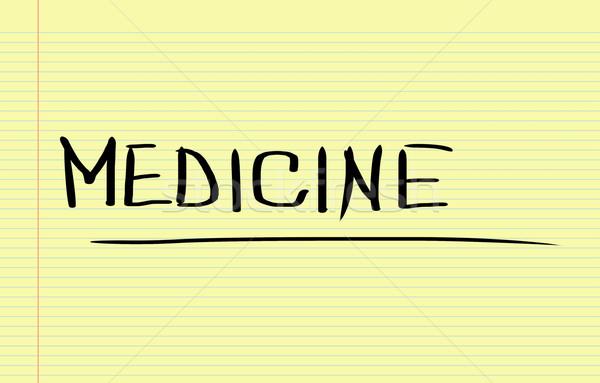 Medicine Concept Stock photo © KrasimiraNevenova