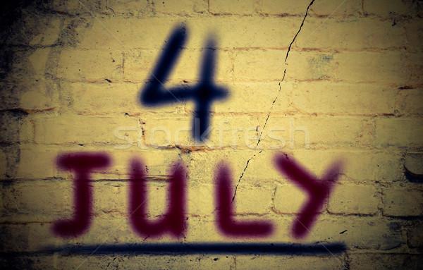 4th Of July Concept Stock photo © KrasimiraNevenova