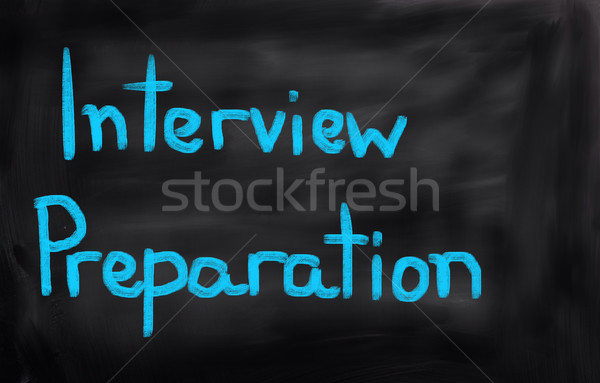 Interview Preparation Concept Stock photo © KrasimiraNevenova