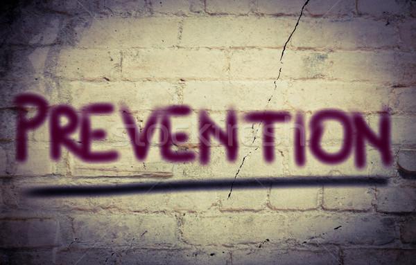 Foto stock: Prevenção · corpo · assinar · vida · fumador · segurança