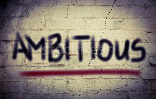 Ambitieus business droom boekhouding start concept Stockfoto © KrasimiraNevenova