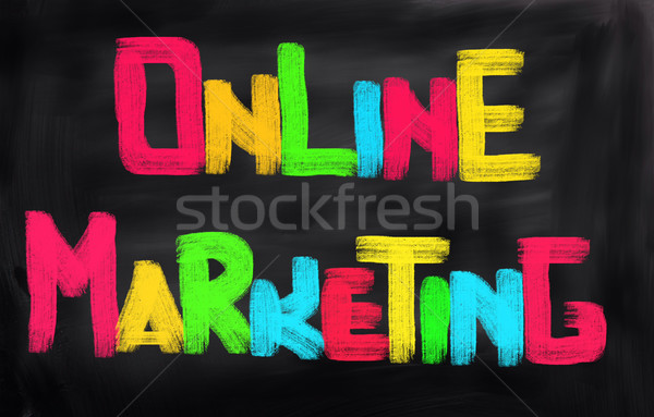 Online Marketing Concept Stock photo © KrasimiraNevenova